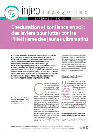 INJEP Analyses et Synthèses 14 (couverture)
