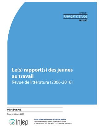 Couverture Injep Notes et rapports 2017-02