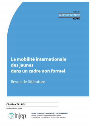 Couverture Injep Notes et rapports 2017-03