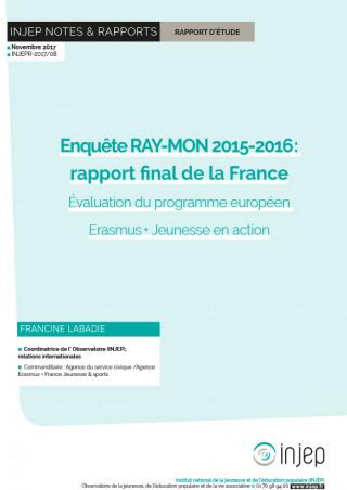 Couverture Injep Notes et rapports 2017-08