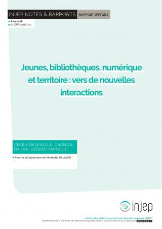 Couverture Injep Notes et rapports 2018-05