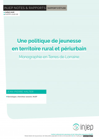 Injep Notes et rapports 2018-8 (couverture)
