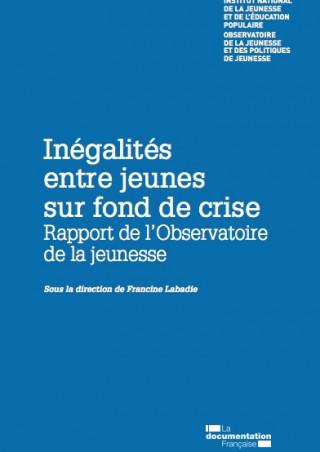 couverture INJEP-rapport inégalités entre jeunes