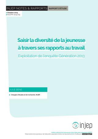 Couverture du rapport INJEP 2019-09